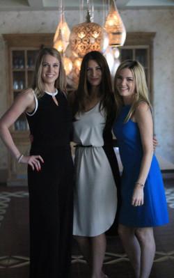 Sarah, Caitlin, and Ashley